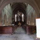 Atmosféra kostela nás vrací do středověku