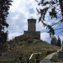 Hrad Kašperk byl jedním ze strážních hradů hranice