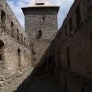 Uvnitř bývalého hradního paláce
