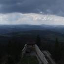 Kocháme se dalekým výhledem z hradu