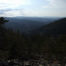 Pohled z Obřího hradu do údolí Losenice