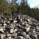 Odpočíváme na hraně kamenného moře
