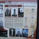 V podvečer přejíždíme kolem Javorníku s Klostermannovou rozhlednou, bohužel už na ni nezbyl čas