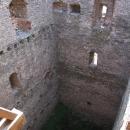 Pohled do nitra hradní věže