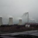 Cestou do Klášterce se kocháme překrásnými výhledy na elektrárnu :-)