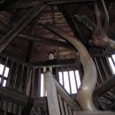 Evička na ochozu v hradní věži