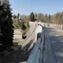 Na hrázi přehrady Pastviny