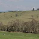 Jaro nad Bartošovicemi. Jak se na sjezdovku vyžene dobytek, je po zimě!