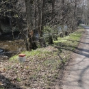 Další cesta vede údolím Orlice, ale na polském břehu.