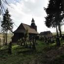 Německý hřbitov za kostelíkem (inu, bývalé sudety)