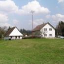 Rodný dům Prokopa Diviše, vynálezce bleskosvodu - ten vlevo samozřejmě