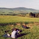Náš nocleh s výhledem nedaleko Vojtíškova