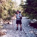 Luděk a stará běžkařská stopa