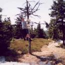 Luděk na vrcholu Sušina (1321 m. + 1m:-)