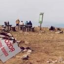 O vrchol Králičáku (1423 m.) se dělíme se sousedy Poláky