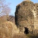 Hradní věž na Týřově