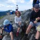 Pauza na vrcholku, Luděk si sem nebyl líný vynést vrcholové pivko :-)