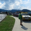 Resp. bylo to dilema, oběd nebo hrad. A protože jsme neměli už žádné jídlo (zásoby byly přesně vypočítané!), přednost dostal oběd v Kolibě Panorama.