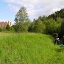 Ubytování bylo i s výhledem na hrad