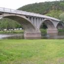 Most přes Berounku u Zvíkovce