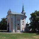 Kostelík sv. Máří Magdalény, dnes z ruin skoro v celé své kráse