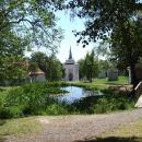 Pěkné zákoutí u kláštera Skalka
