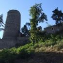 Podjíždím hrad Žebrák