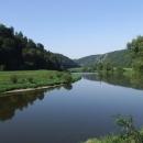 Klidné údolí Berounky