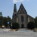 Gotický kostel sv.Bartoloměje na náměstí