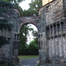 Zbytek vstupního portálu svědčí o gotické výzdobě