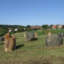 Zichovecký kromlech - replika prehistorického kamenného kruhu