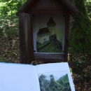 Jenčov je ukrytý v hlubokých lesích v meandru potoka Vůznice, ráj pro romantiky