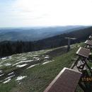 Ze Dvoraček je nádherný výhled, dneska teda obzvláště povedený.