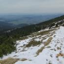 S vyšší nadmořskou výškou sněhu přibývá...