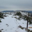 Z vyhlídky na Harrachových kamenech krásně vidíme skoro celé Krkonoše