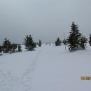 I takové mohou být velikonoce v horách. Dole jaro a nahoře se zima nechce vzdát.