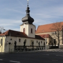 Kapucínský klášter s Loretou a kostelem sv.Vavřince v Rumburku
