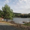 Černý rybník leží na hranicích s Německem