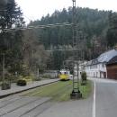 A nádherně klesáme údolím Kirnitzschtal snad 20 kilometrů