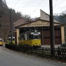 K vodopádu lze z lázeňského městečka dojet 8 km tramvají!
