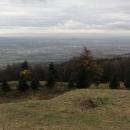 Výhled do údolí směrem k Teplicím