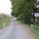 Za Plesnou jsme asi na tři kilometry zmizeli do Německa