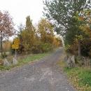 Cyklotras je v přírodním parku Smrčiny spousta