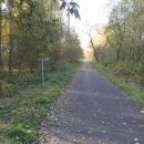 Cyklostezka po bývalé železnici vede do Chebu