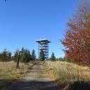 Tady jsme už také podruhé, ale nyní je z bývalé vojenské věže vystavěna nová rozhledna,