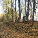 Pozůstatky další vesnice, asi Zadní Zahájí