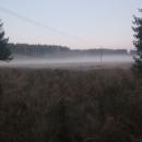 Ranní mlhy s sebou přinesly mráz