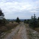 Mířím do údolí k Moldavě