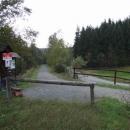 U Holzhau vede kousek cyklostezka po bývalé železnici