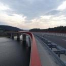 Nádrž na pitnou vodu v Německu u Českého Jiřetína